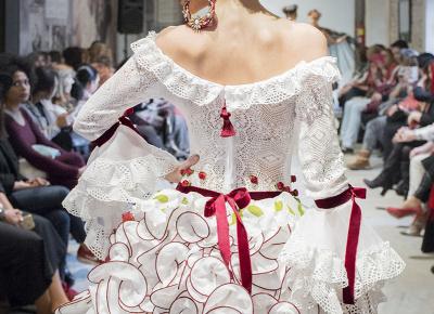 Técnicas de Confección de Flamenca por Rosalía Zahíno