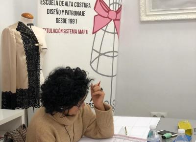 Patronaje de Flamenca por Rosalía Zahíno