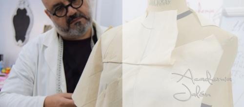 Modelado sobre Maniquí, Técnicas de Balenciaga por Javier Martín